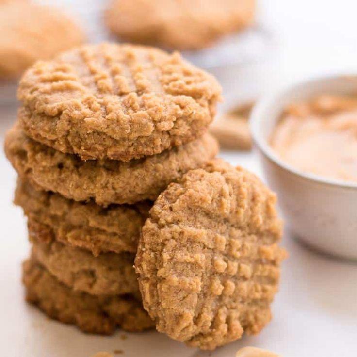 Easy Peanut Butter Keto Cookies