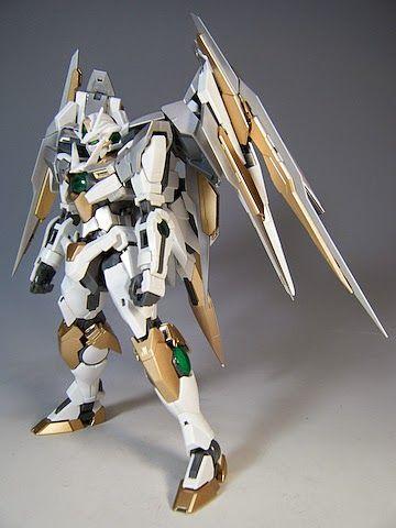 "MG 1/100 Qan [T] Quanta ""Quanta Chan"" Custom Build - Gundam Kits Collection News and Reviews"