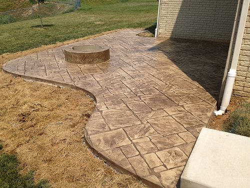 17 Best Images About Stamped Concrete Patios On Pinterest