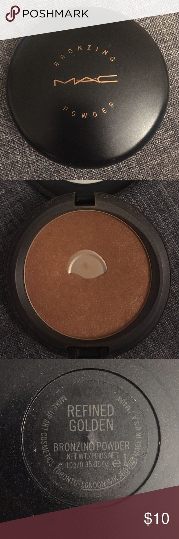 MAC Bronzer Refined Golden - MAC Bronzer MAC Cosmetics Makeup Bronzer