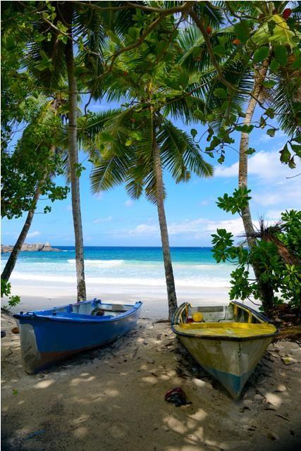 Pure peace...the Seychelles