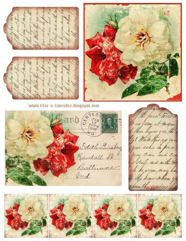 Roses & Poetry Printable