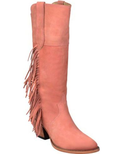 Lucchese Kacey Musgraves Gallop Suede Boots - Medium Toe - Country Outfitter