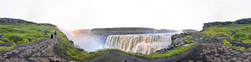 Face to face with roaring Dettifoss