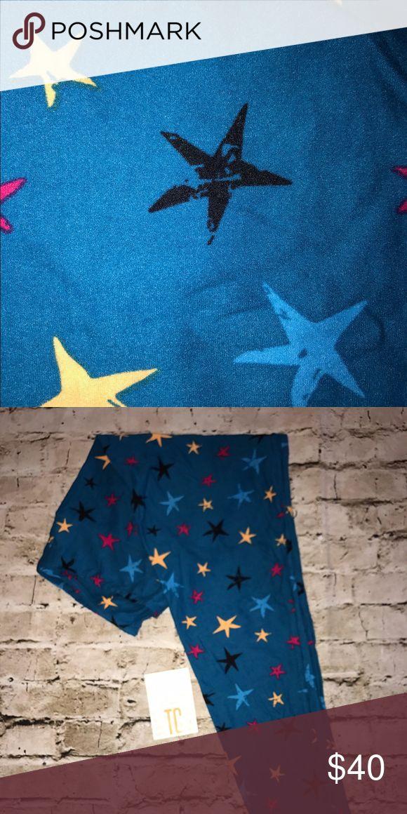 NWT LuLaRoe leggings, TC NWT LuLaRoe leggings, TC. Stars on blue! LuLaRoe Pants Leggings