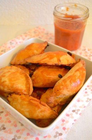Empanada's met Mexicaans gehakt