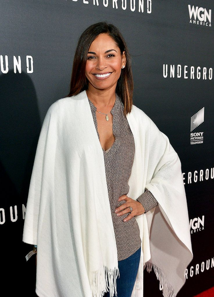 """Salli Richardson-Whitfield attends WGN America's """"Underground"""" World Premiere on March 2, 2016 in Los Angeles, California"""