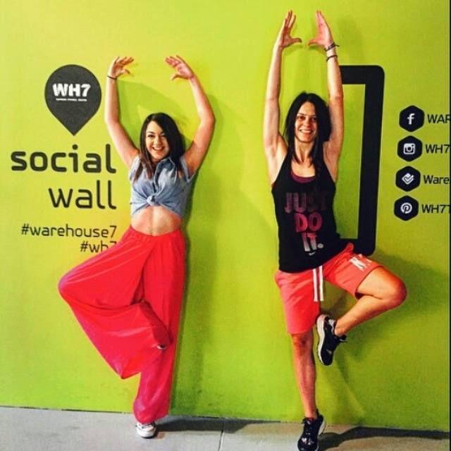 Γυμναστικές Επιδείξεις στο #socialwall #warehouse7 #wh7