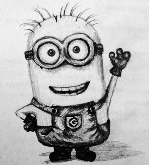 Minion Wallpaper Iphone 5 Cool Minion Drawing Things For My Wall In 2019 Minion