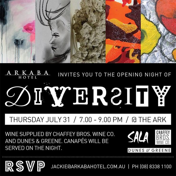 Invitation to opening of Diversity!