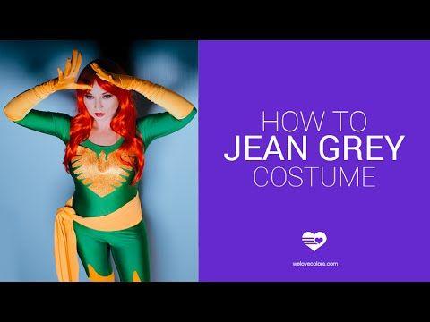 Easy Halloween Costume / Jean Grey - YouTube