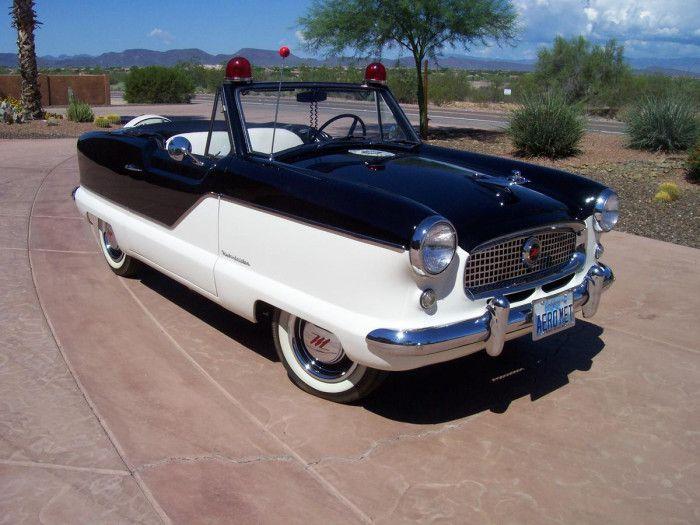 1961 Nash Metropolitan Convertible Police Car