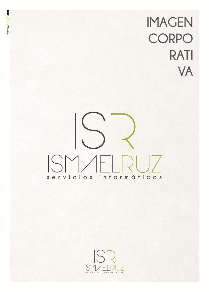 Logotipo de Ismael Ruz Creado por Vinti7 http://vinti7.com/ismael-ruz-logotipo/
