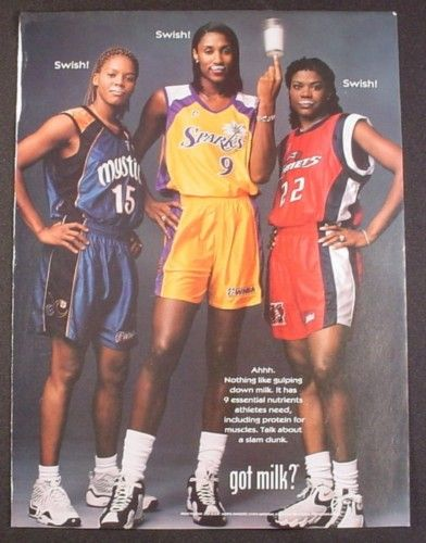 *Nikki McCray, Lisa Leslie. Sheryl Swoopes! The most amazing female players ever!