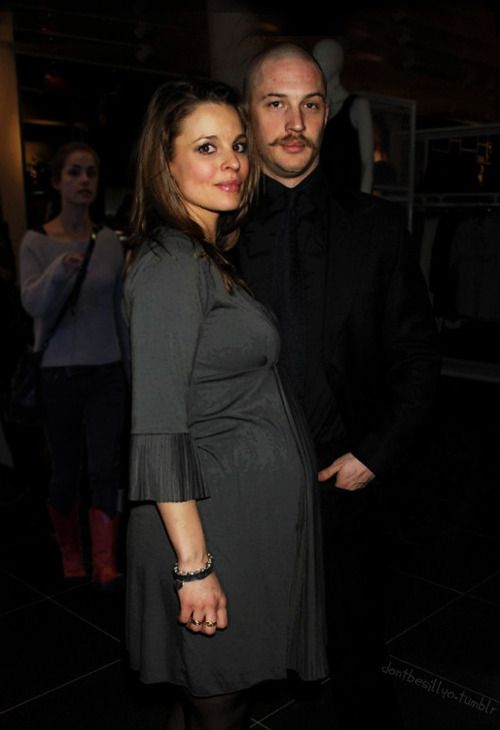 Tom Hardy and Rachael Speed (Louis Hardy's mother )