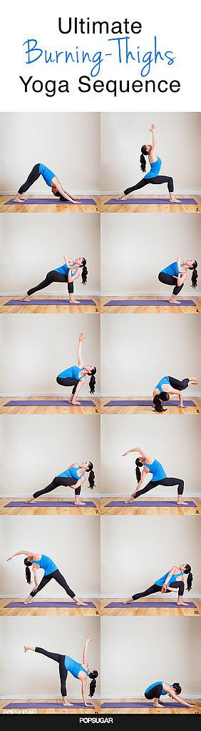 Burning Squats Yoga Poses