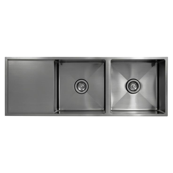 Principal Inset Sink with Drainer 2 Bowl - Masters Home Improvement - $687.00