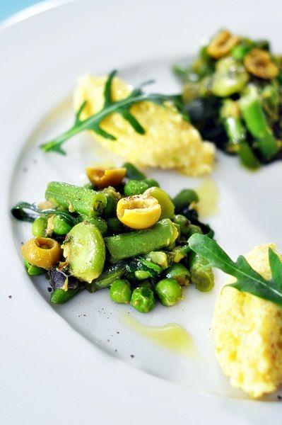 Gulasz z zielonymi warzywami