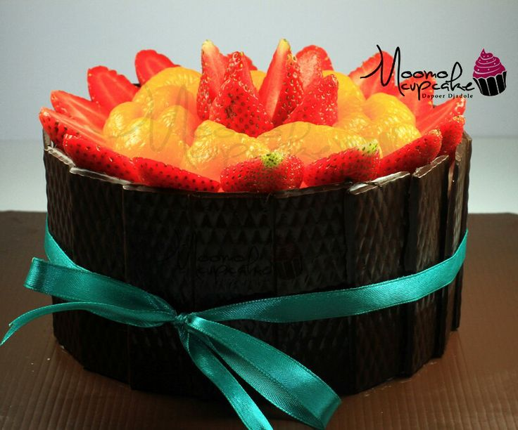 Japanesse Cheese Cake with Fresh Tropical Fruit Topping