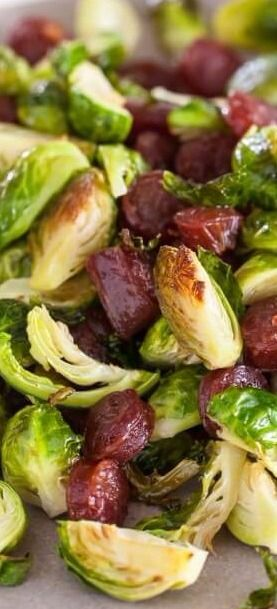Roasted Brussels Sprouts with Chinese Sausage | Recipe ...