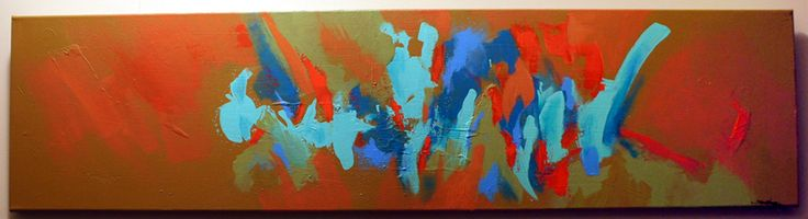 "Abstract painting ""Pendulous"" by artist Shane Moser www.shanemoser.com"