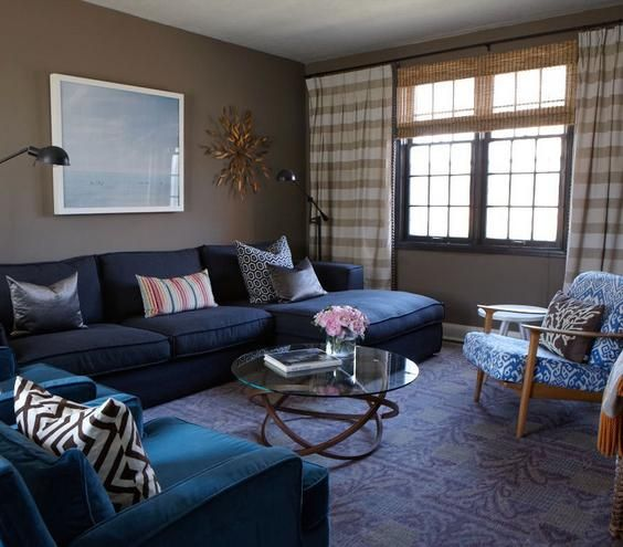 Feeling the Blues | Patterns, prints, colors, and textures come together to create the ultimate livable space.