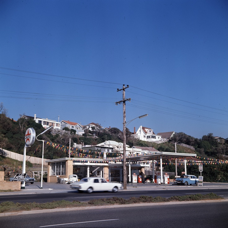 Caltex Service Station, Olivers Hill. 1969