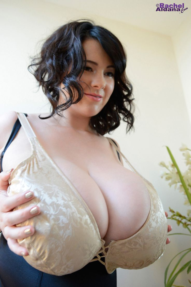 Huge boobs in bra women!