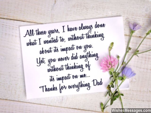29 best Dad Quotes Poems and Messages images – Birthday Card Messages for Dad