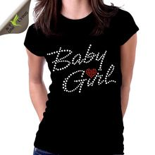 Custom Women Fashion Rhinestone Cotton t shirt AZO  best buy follow this link http://shopingayo.space