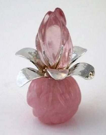 art glass perfume bottle...