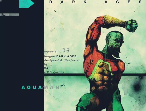JLA : DARK AGES, VISUAL RETROSPECTIVE