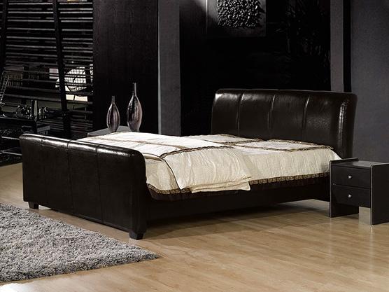 die besten 25 lederbett ideen auf pinterest kopfteil. Black Bedroom Furniture Sets. Home Design Ideas