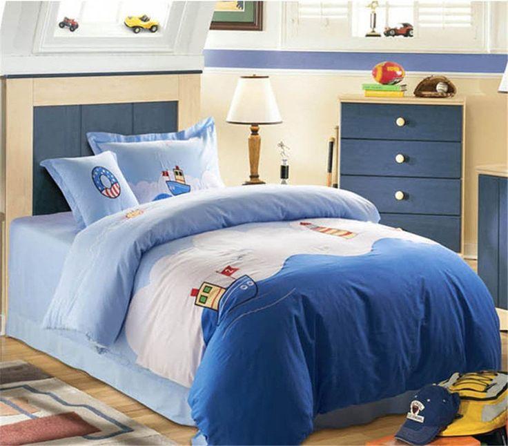 Auvoau Children duvet cover set Kids Bedding Set Organic Cotton 4-piece Kids Duvet Cover Sets (Twin, 8) //Price: $52.73 & FREE Shipping //     #bedding