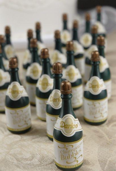 15 Best Images About Champagne Bubbles Wedding Favors On Pinterest
