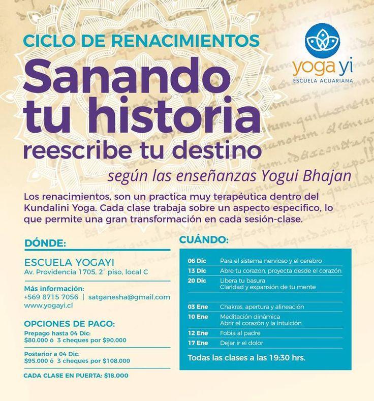 Ciclo de Renacimientos en Yoga Yi https://www.comunidadkundalini.com/eventos/ciclo-renacimientos-yoga-yi/