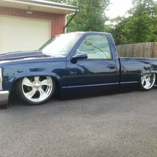 ALL AMERICAN TRUCK & SUV CENTERS - Google+... 1994' CHEVY CK BODY DROPPED!