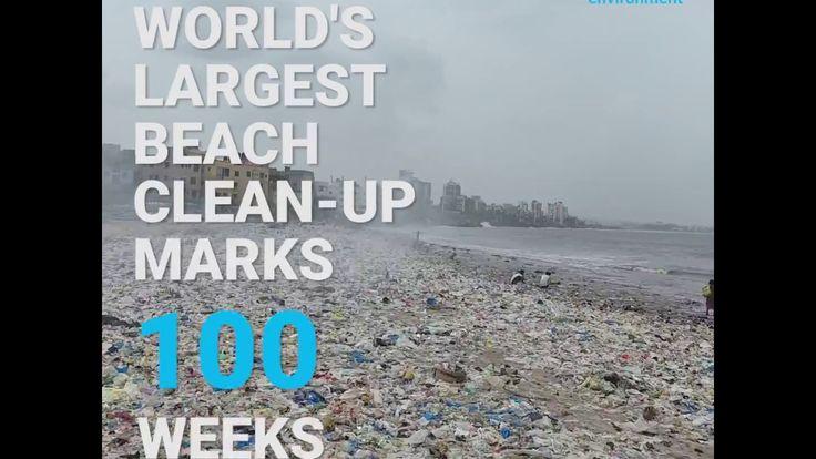 Largest Beach Clean-Up Marks 100 Weeks****************************https://enorm-magazin.de/der-wille-versetzt-muellberge ****************************