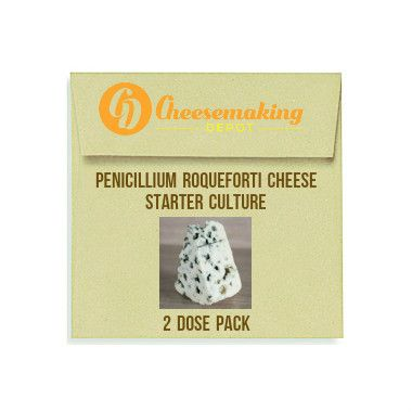 Penicillium Roqueforti Cheese Starter Culture - 2 dose & 10 dose packs