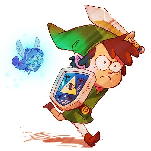 "Gravity Falls/Legend of Zelda Crossover: Dink - Deviant Artist ""trp86"""