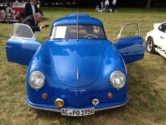 Chantilly Art & Elegance Richard Mille by Peter Auto  Porsche 356 pre A