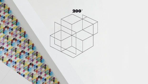 drapilux - 200° Kollektion: Dekostoffe nach dem Baukastenprinzip. #architecture #architektur #drapilux #stoff #design #200° #collection #print #baukasten