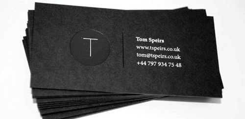 Black and White Business Cards Design (50 Inspiring Examples) | Design | Graphic Design Junction