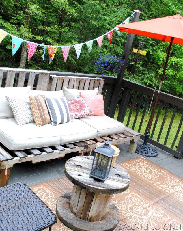 Gestalte Deine Veranda Als Platz Zum Entspannen Und Feiern. Du Kannst Mit  Einfachen Mitteln Ganz