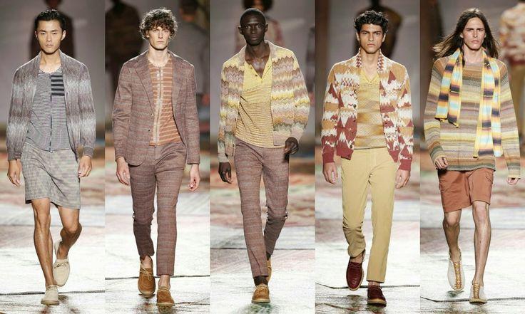 Missoni  #Fashion #moda #men #hombre  http://cuchurutu.blogspot.com.es/2014/06/la-semana-de-la-moda-masculina-en-milan.html