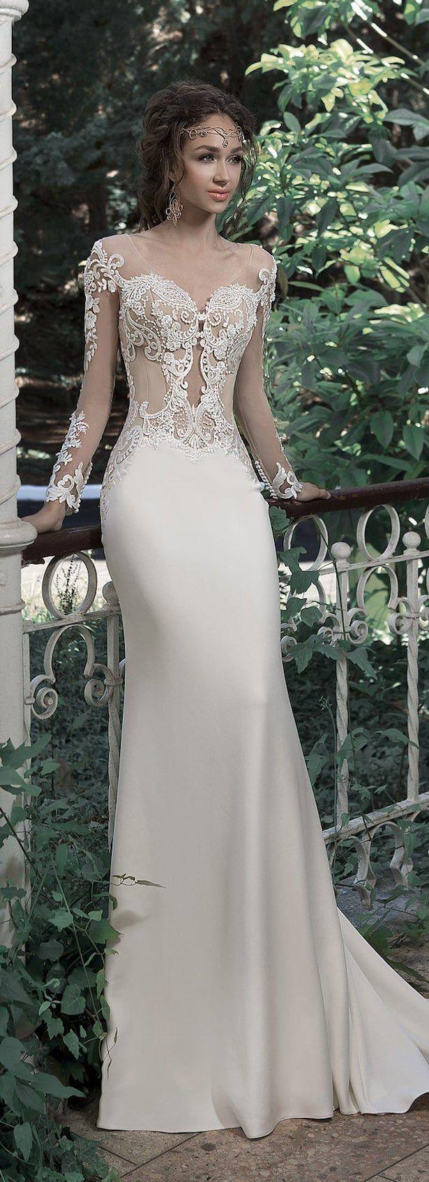 330 best Wedding Dresses images on Pinterest | Wedding dressses ...