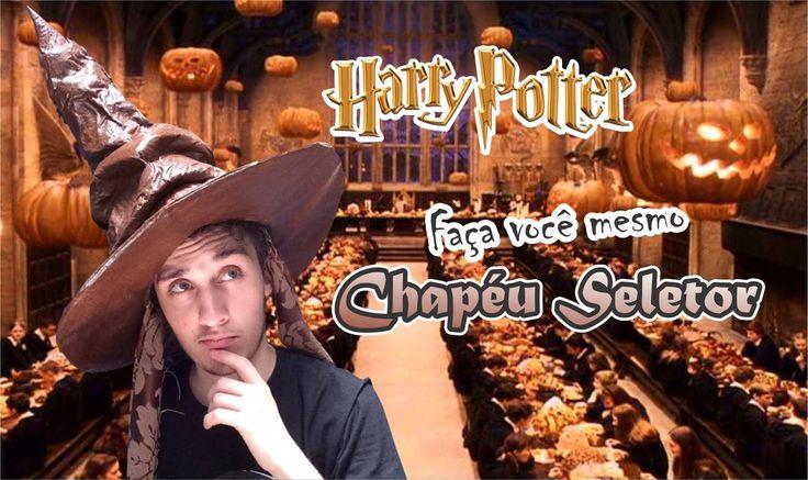 DIY; Faça você mesmo chapéu seletor Harry Potter