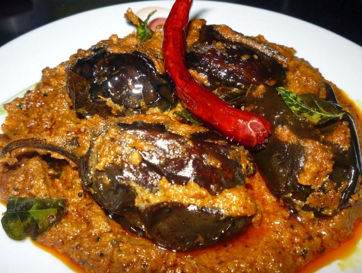 Masala brinjal is an Andhra style spicy and classic easy to prepare dish. Recipe eggplant is stuffed with garam masala mixture. brinjal masala recipe