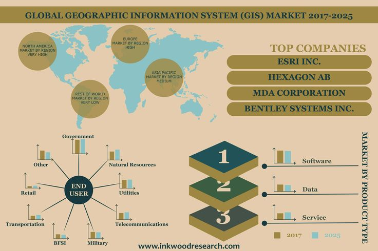 Global Geographic Information Systems (GIS) Market Set to Reach $48.21 Billion by 2025