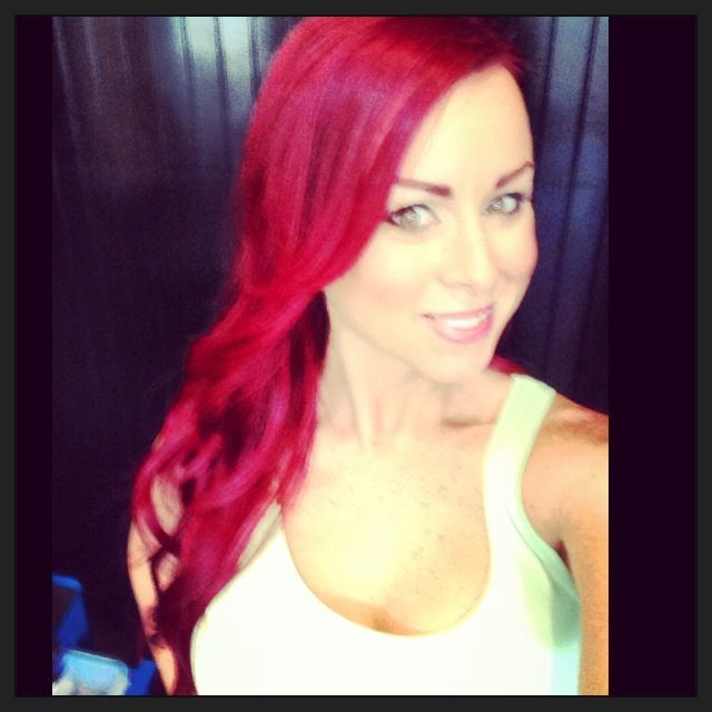 Magenta Red Hair Extensions Remy Indian Hair
